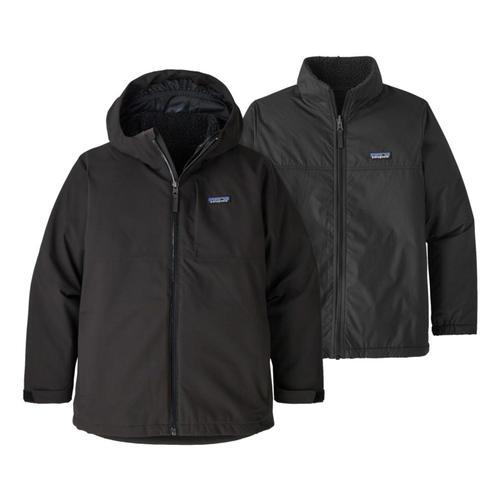 Patagonia Boys 4-In-1 Everyday Jacket Black_blk
