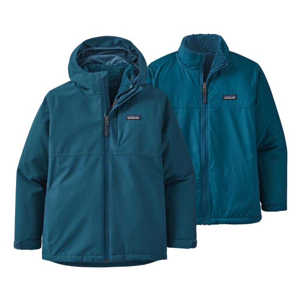 Patagonia Boys 4-In-1 Everyday Jacket CRBLU_CTRB