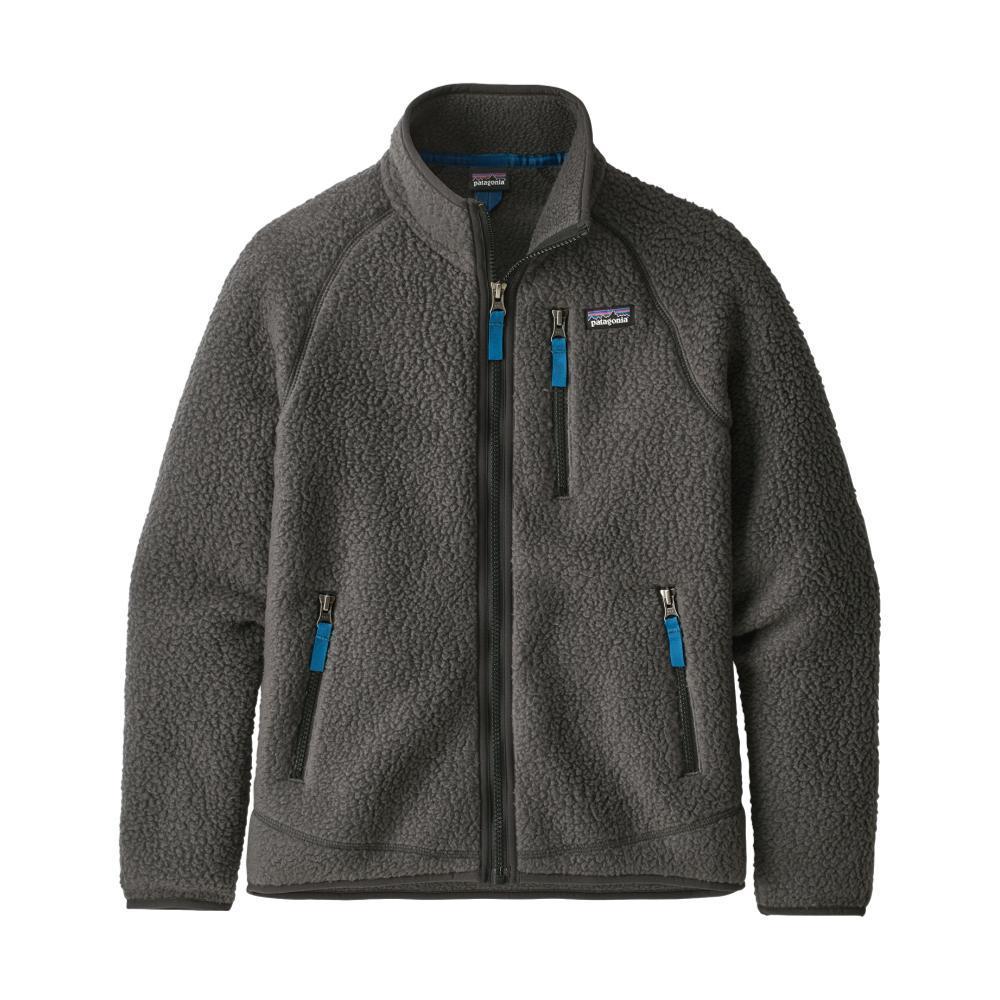 Patagonia Boys Retro Pile Fleece Jacket FRGGRY_FGE