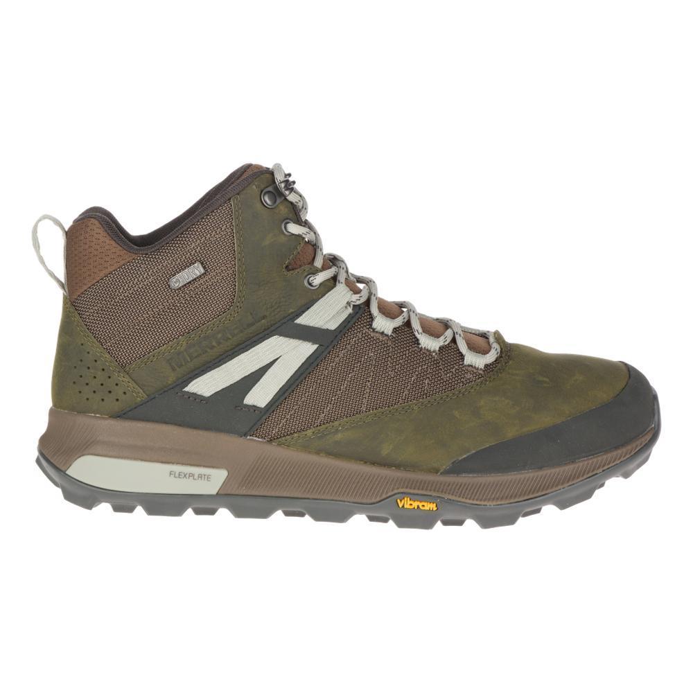 Merrell Men's Zion Mid Waterproof Hiking Boots DKOLIVE