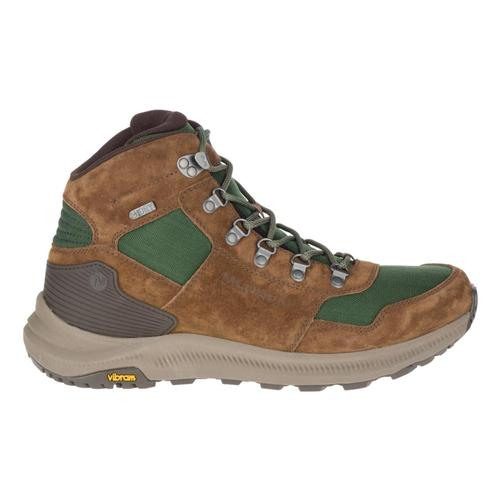 Merrell Men's Ontario 85 Mid Waterproof Hiking Boots Forest