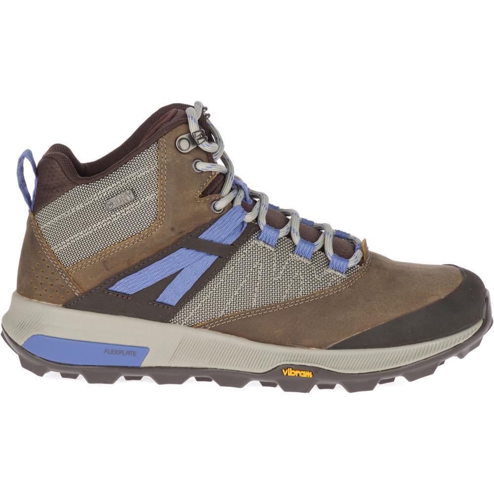 Merrell Women's Zion Mid Waterproof Hiking Boots CLOUDY