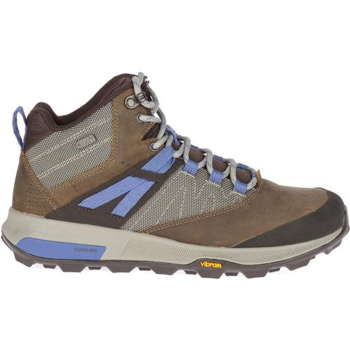 Merrell Women's Zion Mid Waterproof Hiking Boots Cloudy