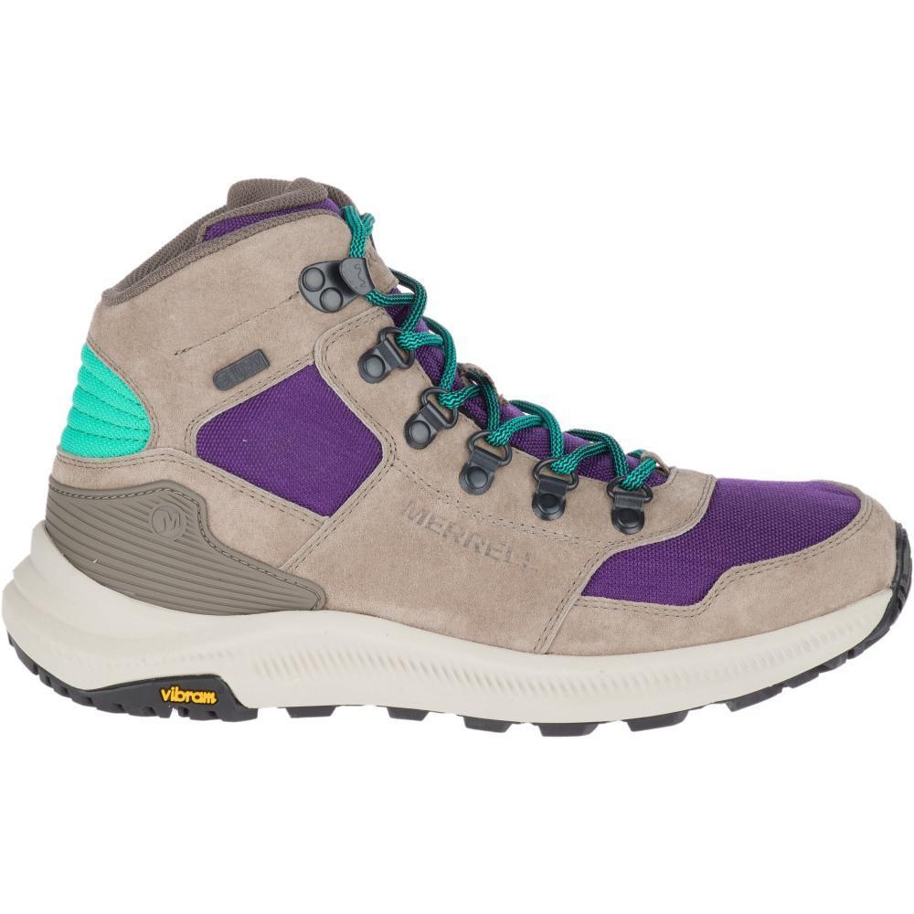 Merrell Women's Ontario 85 Mid Waterproof Hiking Boots ACAI
