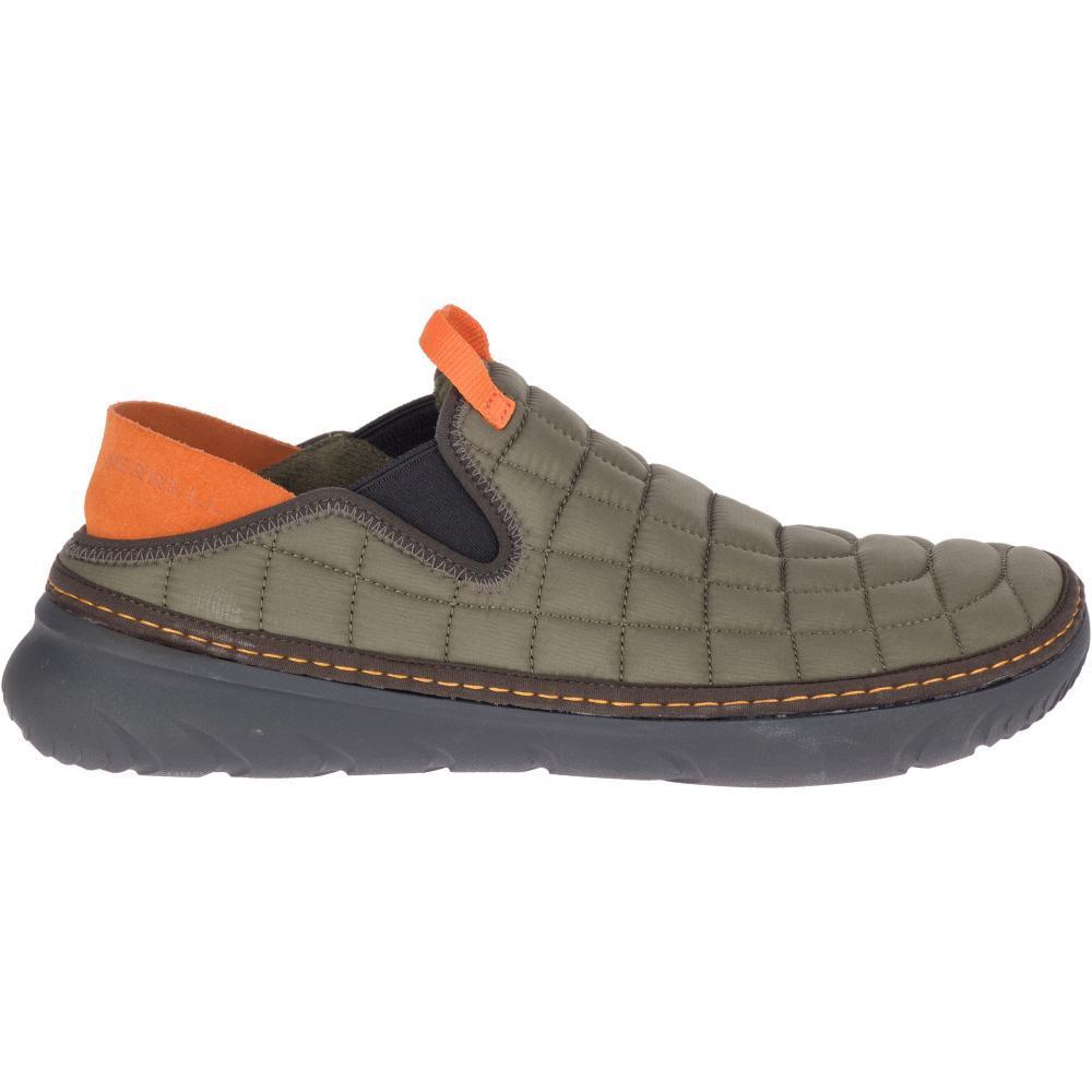 Merrell Men's Hut Moc Shoes OLIVE