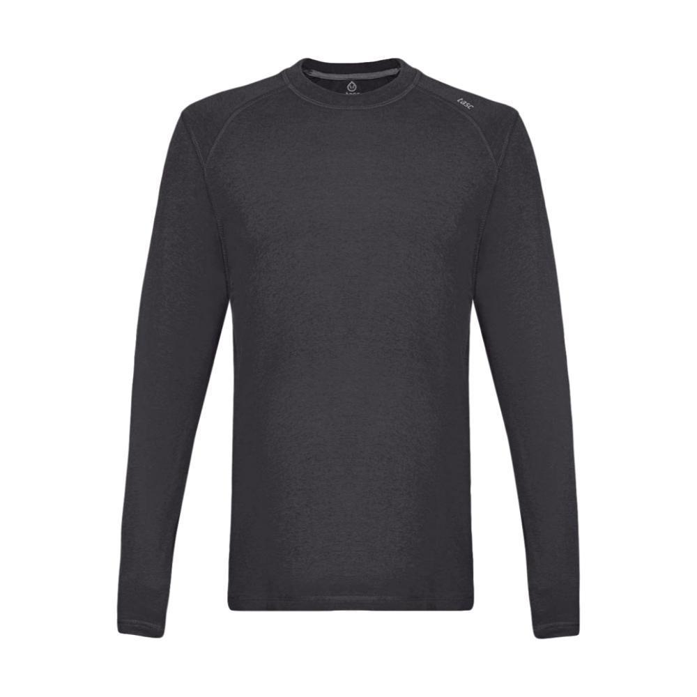 tasc Men's Carrollton Heather Long Sleeve Shirt BLKHTHR