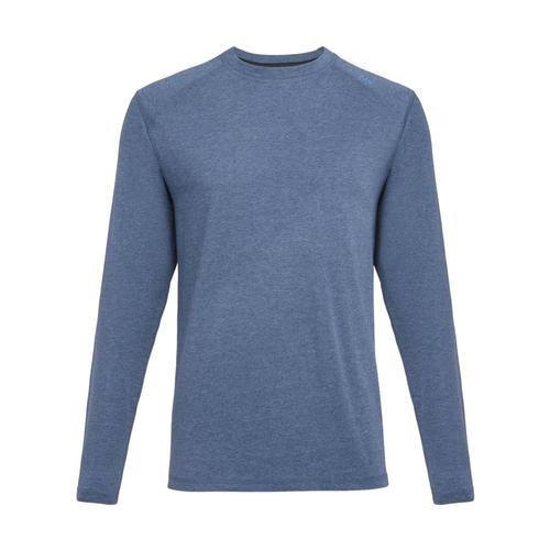 tasc Men's Carrollton Heather Long Sleeve Shirt Indigohtr406