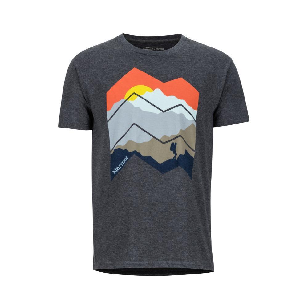 Marmot Men's Zig Zag Mountains Short Sleeve T-Shirt CHARH_1204