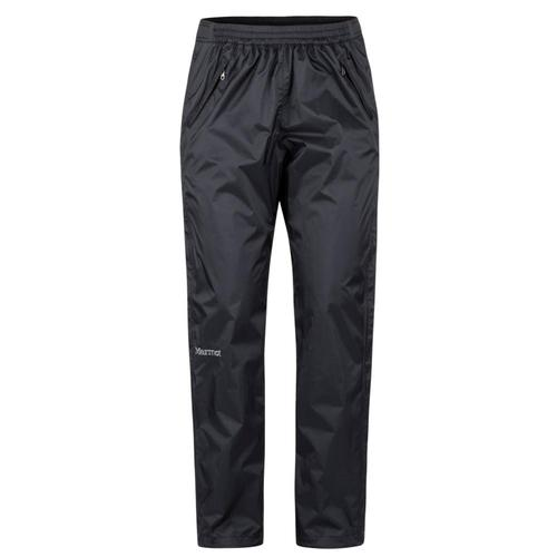 Marmot Women's PreCip Eco Full-Zip Pants - Short Black_001