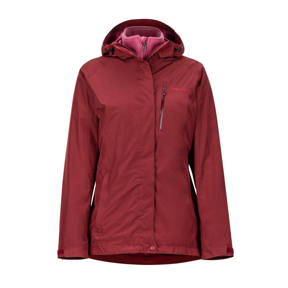 Marmot Women's Ramble Component 3-in-1 Jacket CLARET_6125
