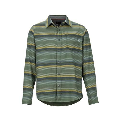 Marmot Men's Fairfax Midweight Flannel Long-Sleeve Shirt Golden9142