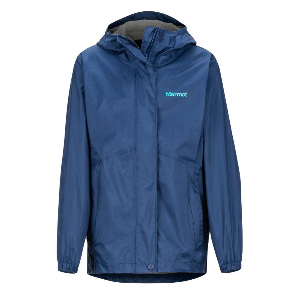 Marmot Girls' PreCip Eco Jacket NAVY_2975