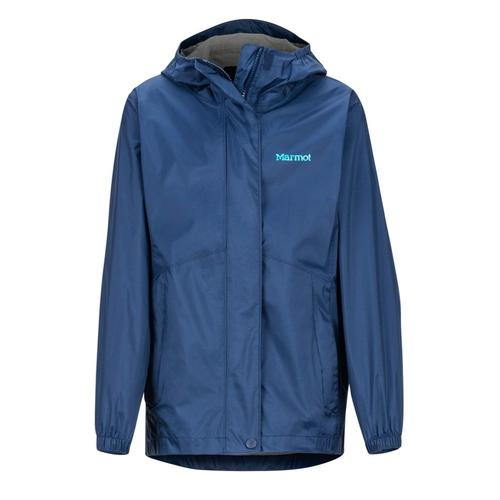 Marmot Girls' PreCip Eco Jacket Navy_2975