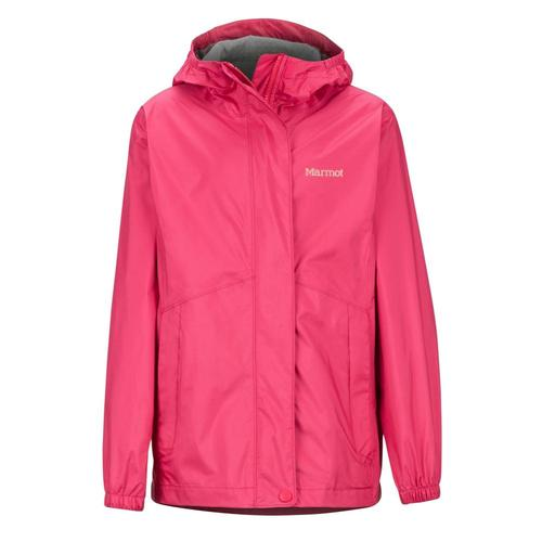 Marmot Girls' PreCip Eco Jacket Pink_7216