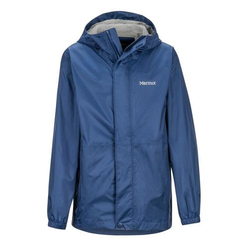Marmot Boys' PreCip Eco Jacket Navy_2975