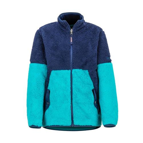 Marmot Girls' Lariat Fleece Blue_4961