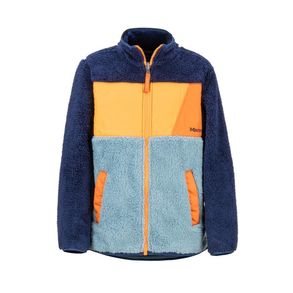 Marmot Boys' Roland Fleece Jacket BLUE_3572