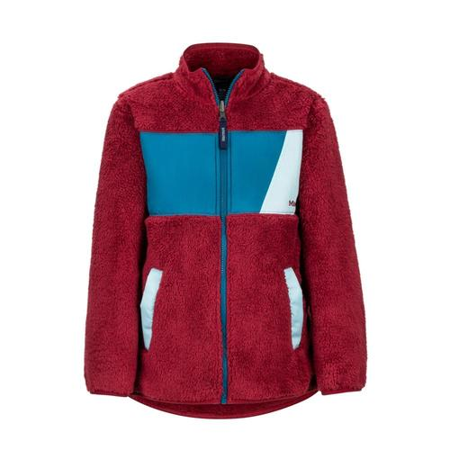 Marmot Boys' Roland Fleece Jacket Brick_5776