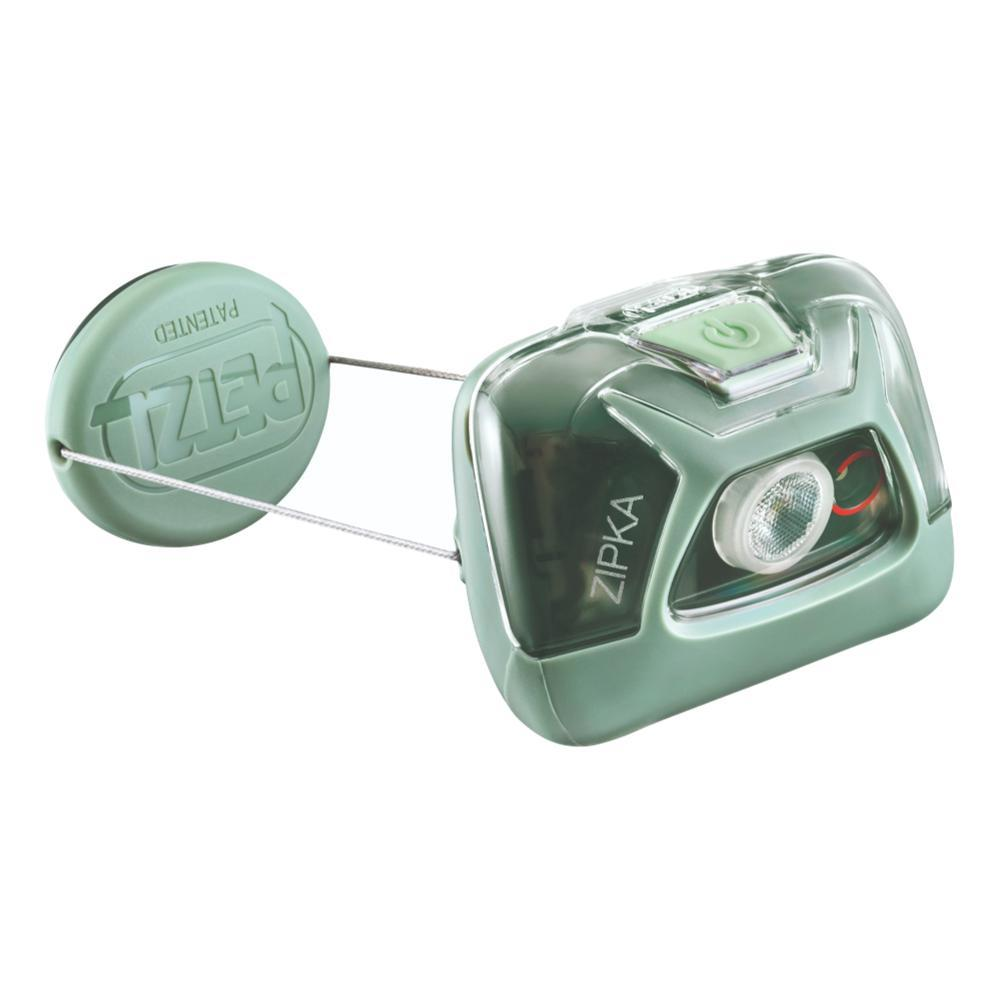 Petzl ZIPKA Headlamp GREEN