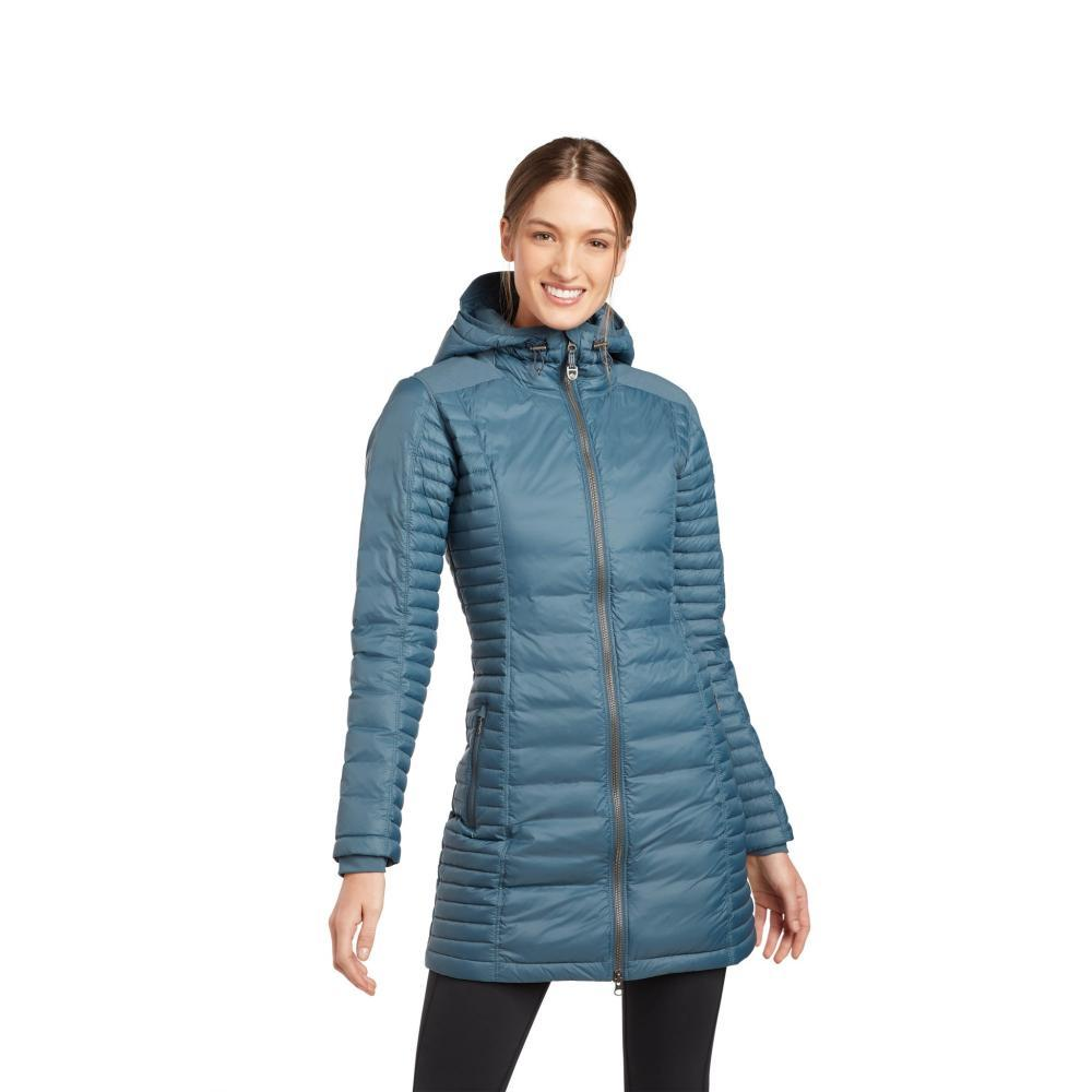 KUHL Women's Spyfire Parka DUSTYBLUE