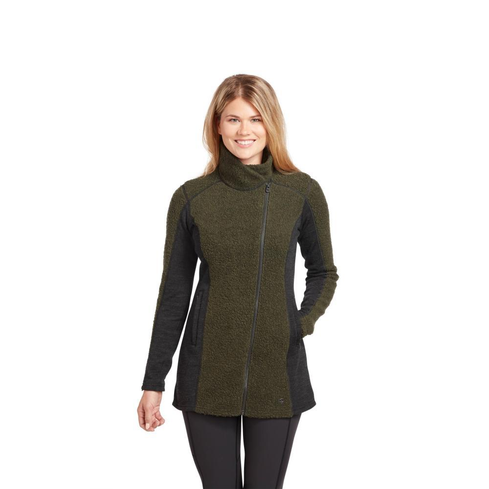 KUHL Women's Kozet Long Jacket OLIVE