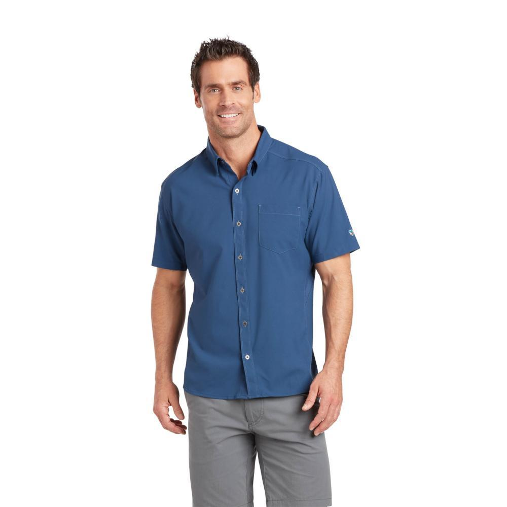 KUHL Men's Bandit Short Sleeve Shirt BLUED