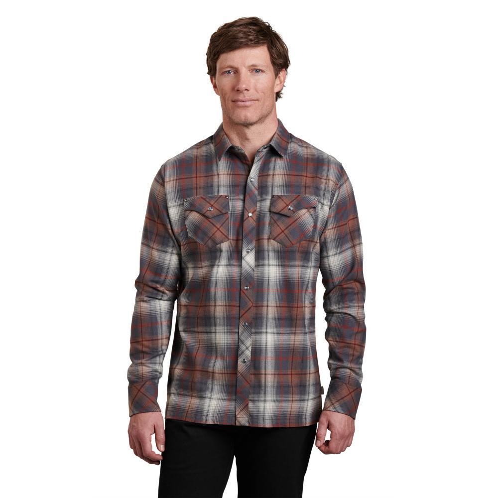 KUHL Men's Lowdown Shirt BURNTASH