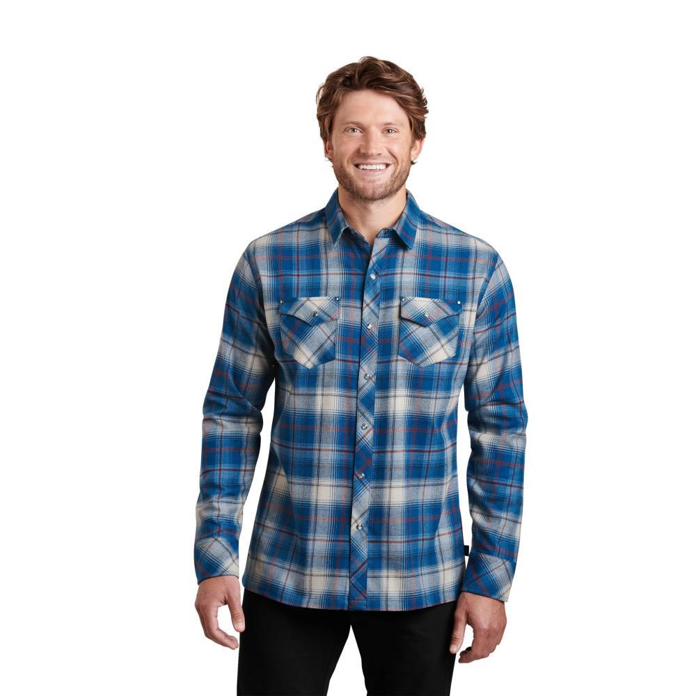 KUHL Men's Lowdown Shirt KOSMICBLUE
