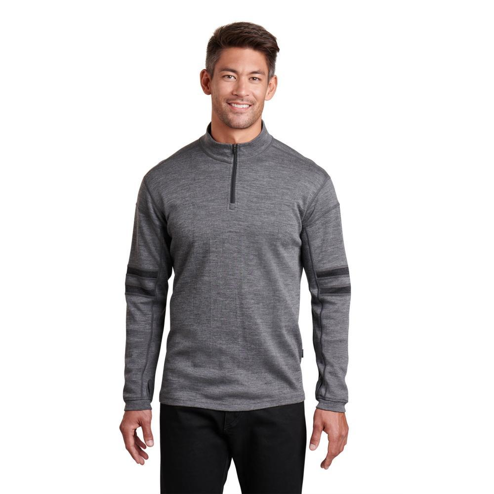KUHL Men's Team 1/4 Zip Sweater SLATE