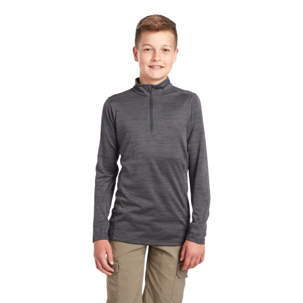 KUHL Boys Alloy 1/4 Zip Sweater GRAPHITE