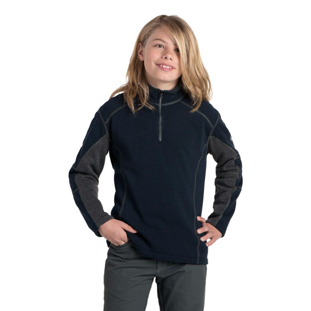 KUHL Boys Revel 1/4 Zip Sweater MUTINY