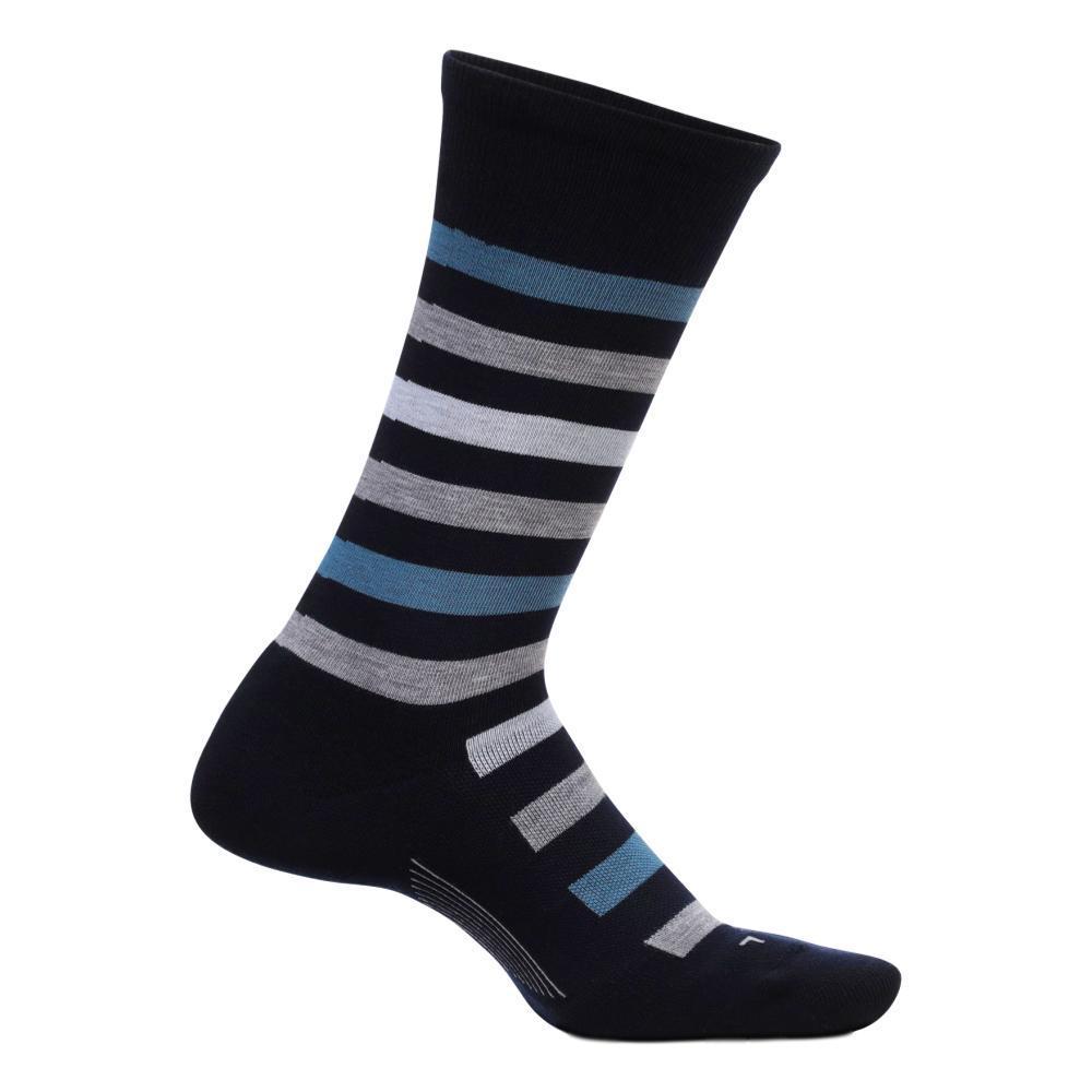 Feetures Men's Everyday Atherton Cushion Crew Socks NAVY