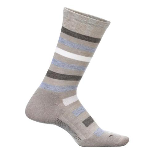 Feetures Women's Atherton Crew Cushion Socks Oatmeal