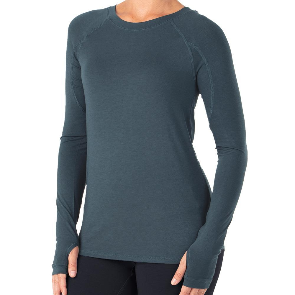 Free Fly Women's Bamboo Midweight Long Sleeve Top DUSK_117
