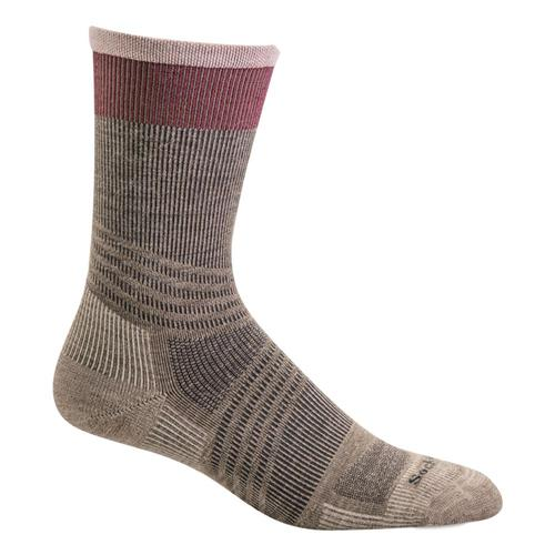 Sockwell Women's Summit Crew II Compression Socks Khaki_030