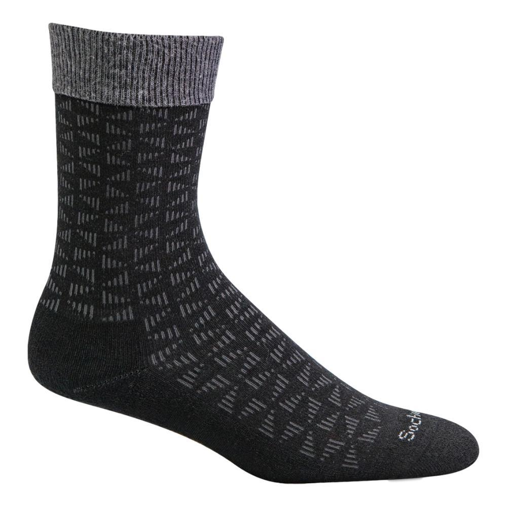 SockWell Men's Easy Street Relaxed Fit Socks BLACK_900