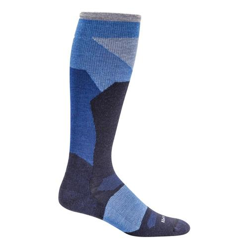 SockWell Men's Ski Medium Graduated Compression Socks Navy_600
