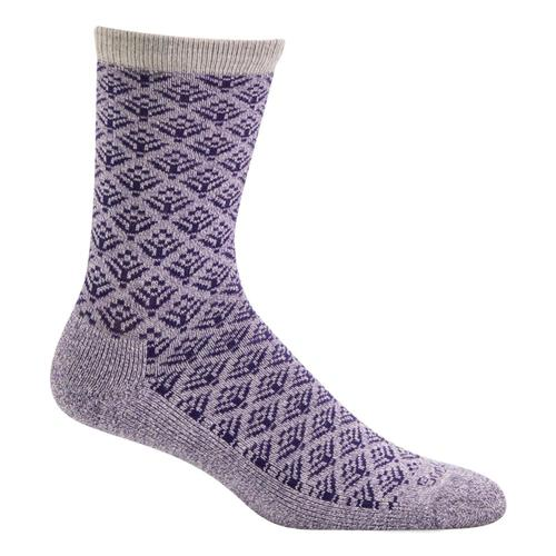 SockWell Women's Sweet Pea Essential Comfort Socks Plum_350