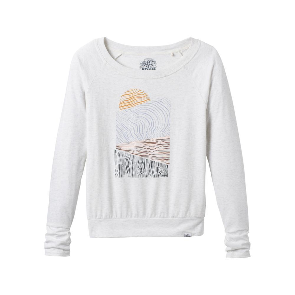 prAna Women's Graphic Long Sleeve Tee WHITELAND