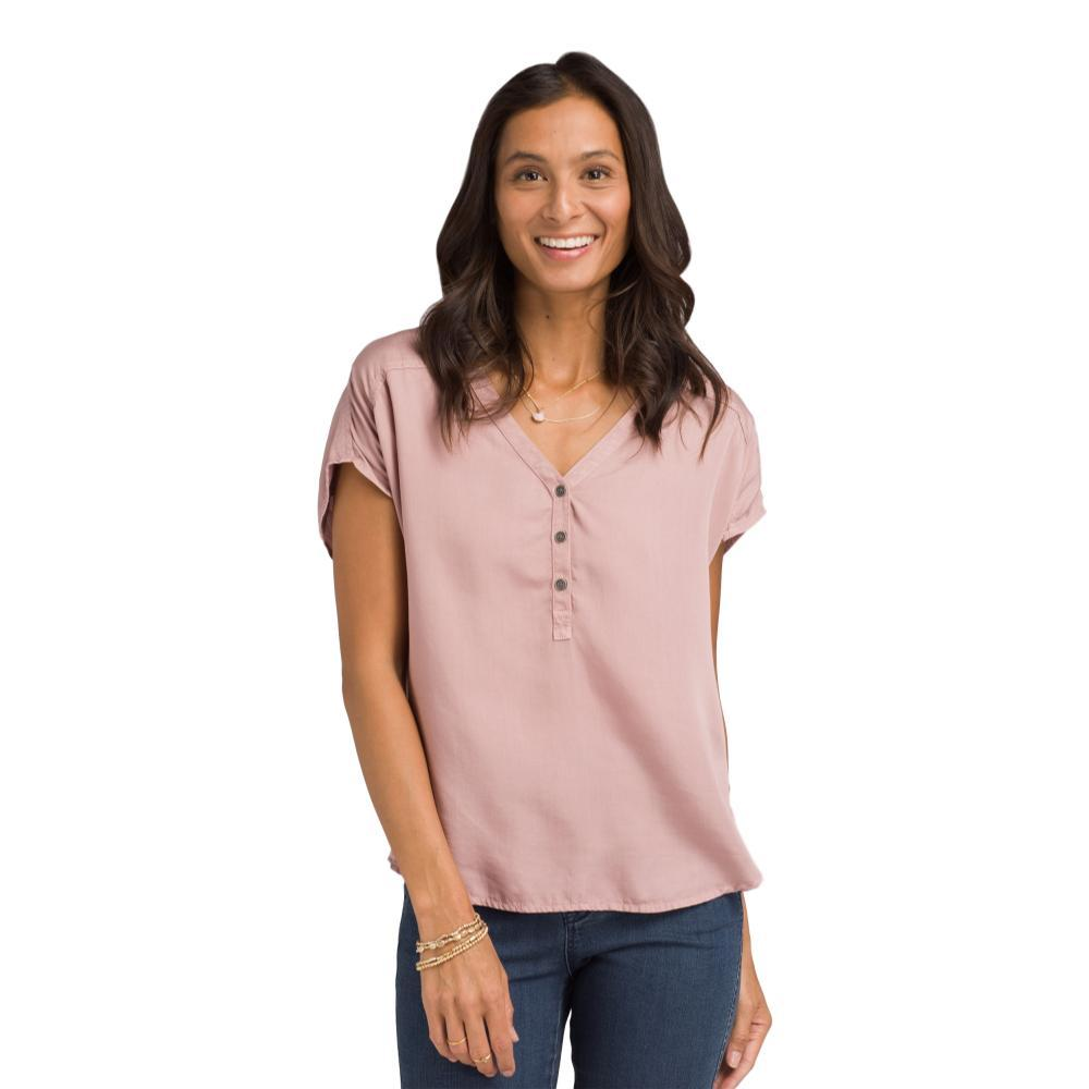 prAna Women's Starlie Top LIGHTMAUVE
