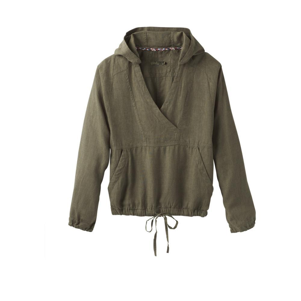 prAna Women's Bowery Top RYEGREEN