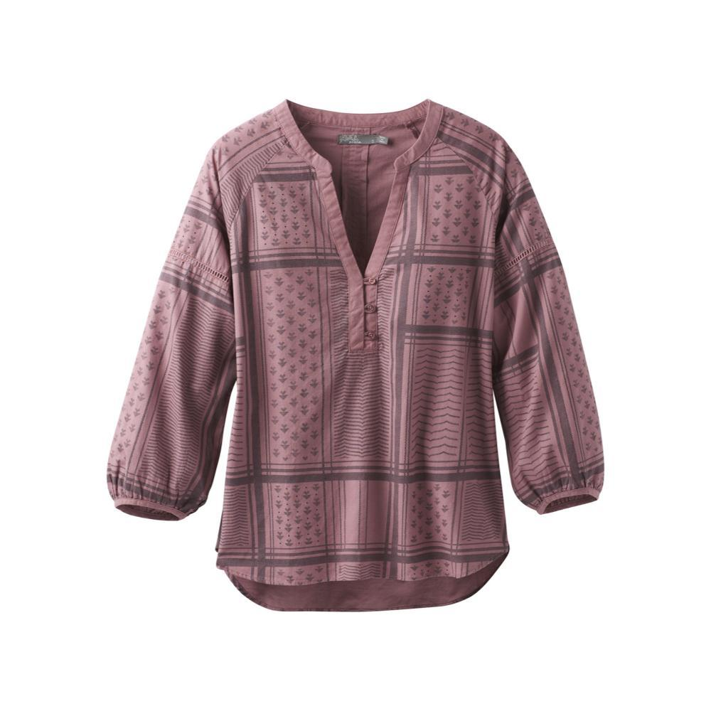 prAna Women's Elena Top DARKMAUVE