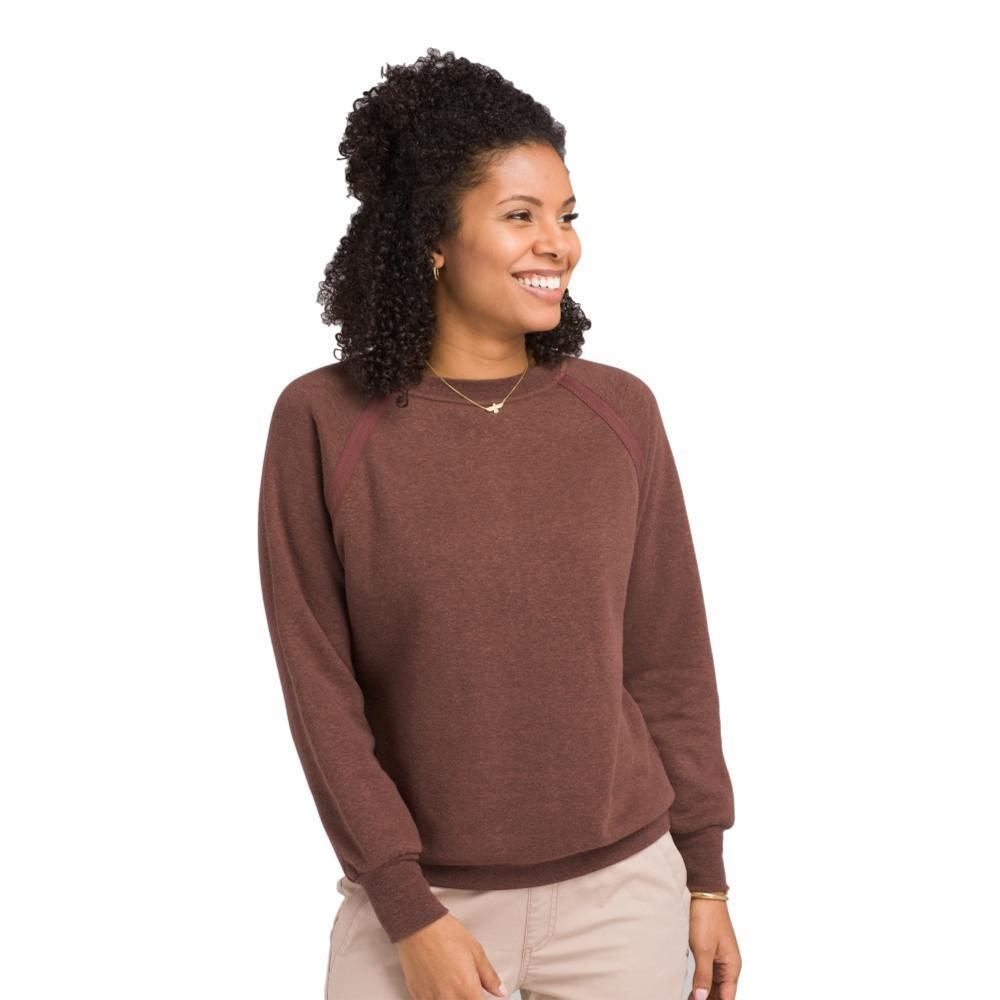 prAna Women's Cozy Up Sweatshirt COCOA
