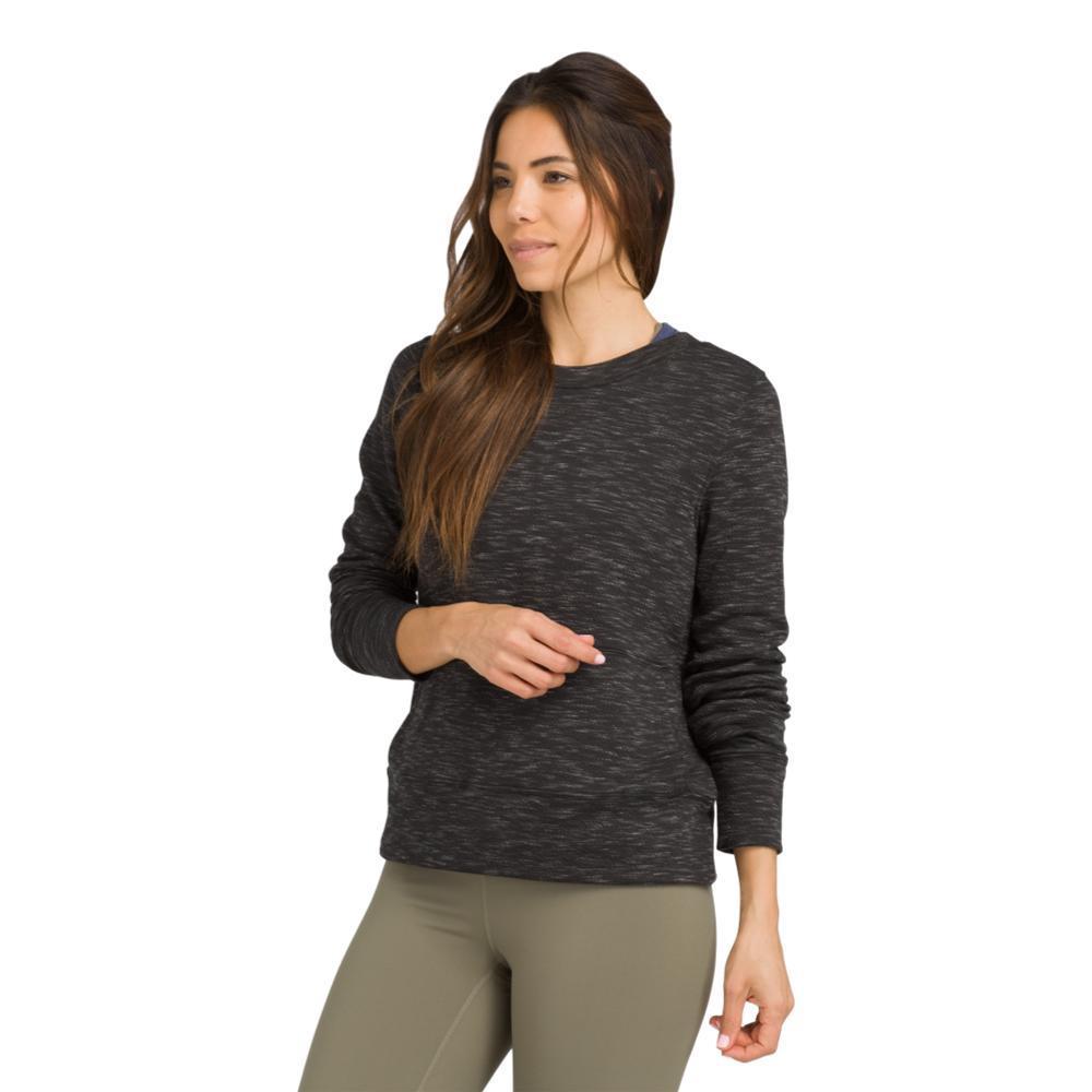 prAna Women's Sunrise Sweatshirt BLACK