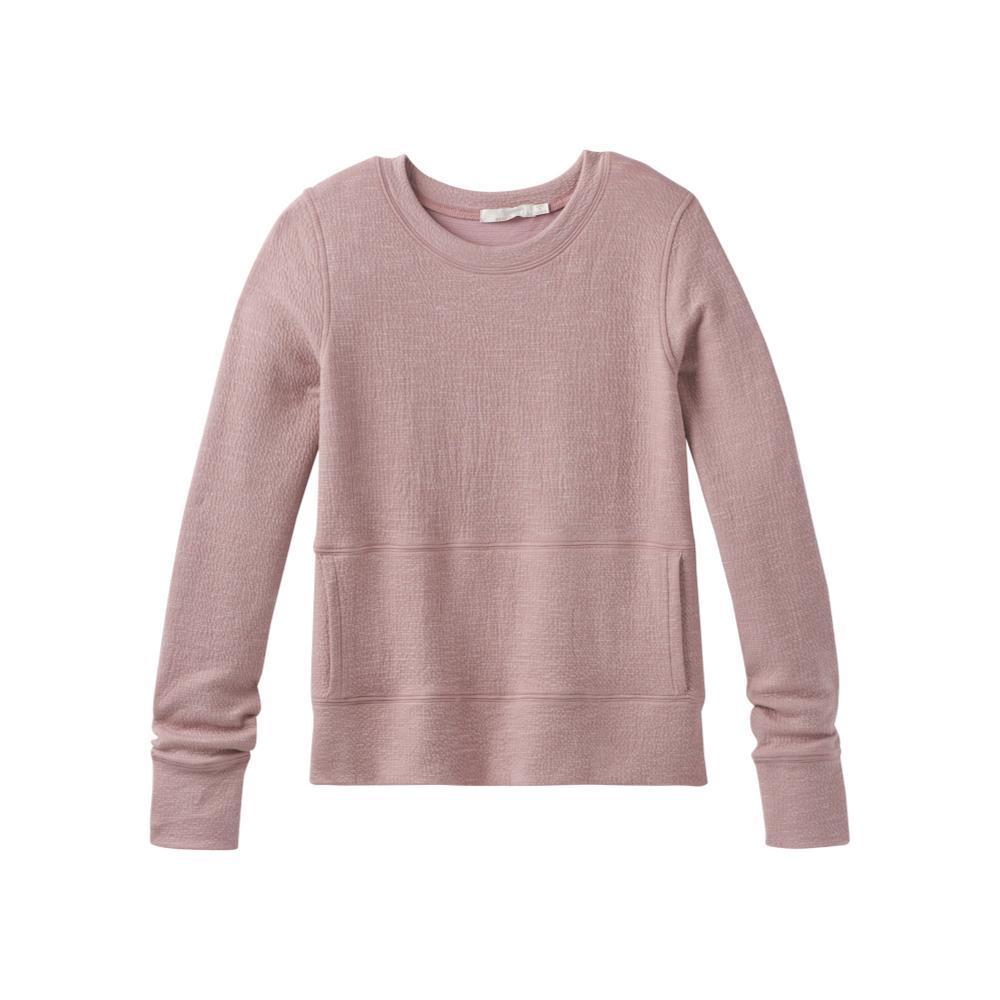 prAna Women's Sunrise Sweatshirt LIGHTMAUVE