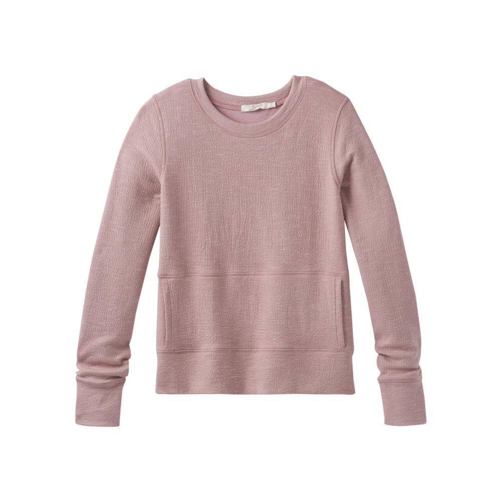 prAna Women's Sunrise Sweatshirt Plus LIGHTMAUVE