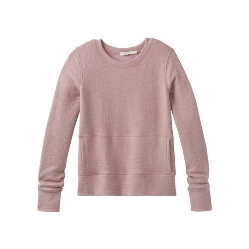 prAna Women's Sunrise Sweatshirt Plus Lightmauve