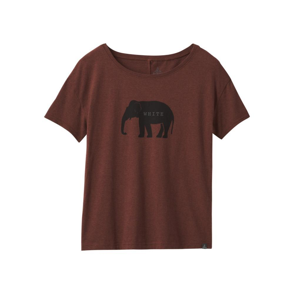 prAna Women's Deysi Top DARKMAUVE