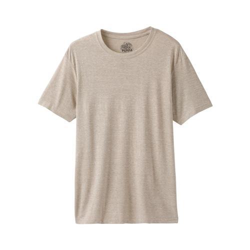 prAna Men's Wayfree T-Shirt Stonehthr