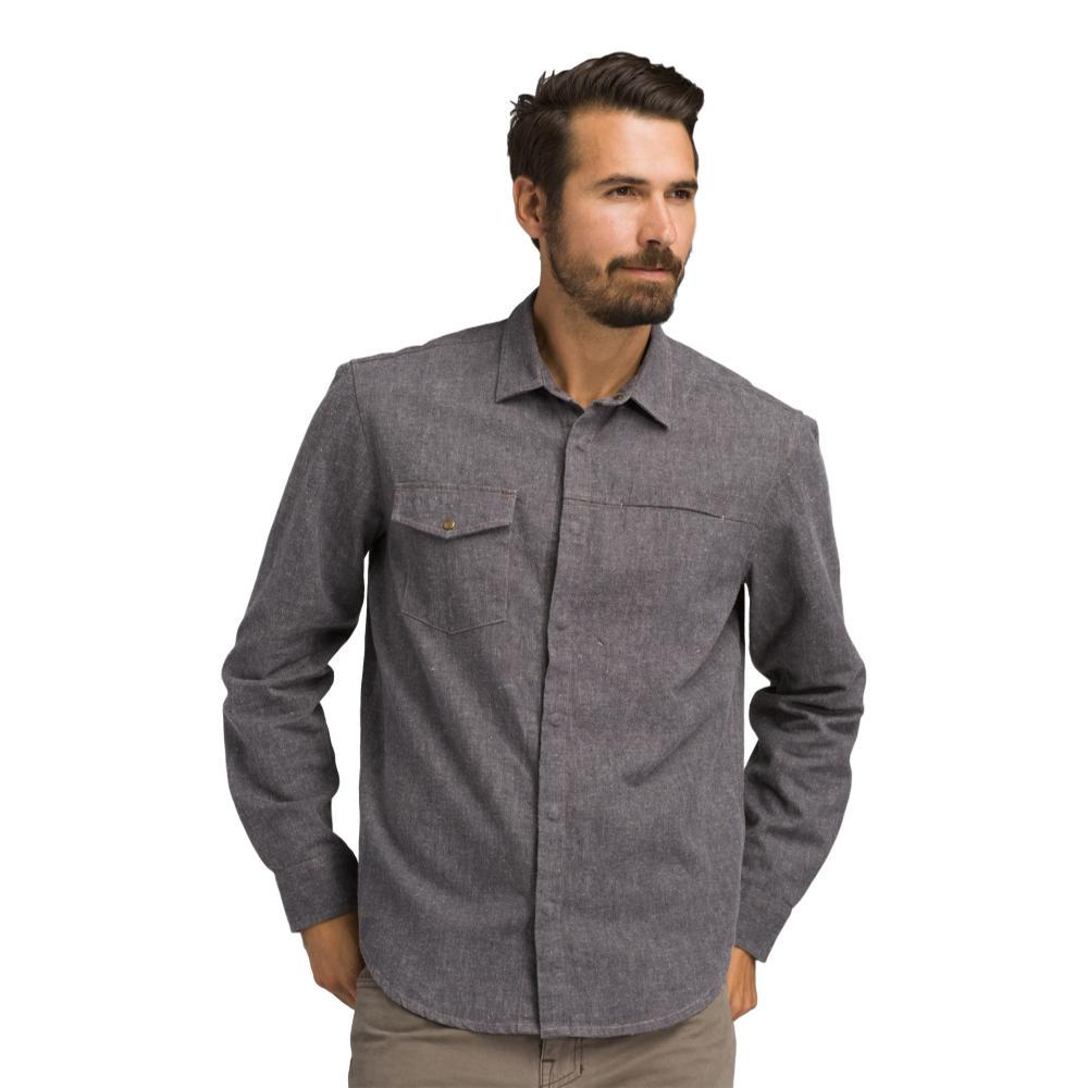 prAna Men's Lenny Overshirt GRAVEL
